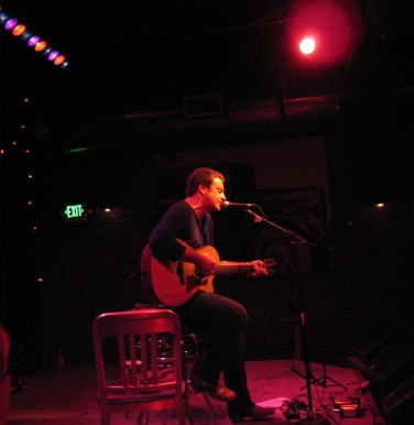 Rob Dickinson at the Tractor