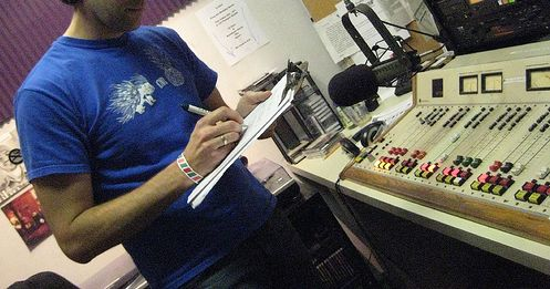 Me on the air.  Happy 25th!