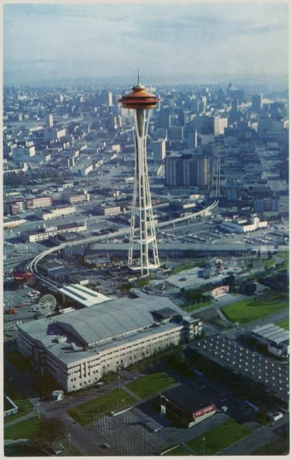 The Space Needle as it was originally intended.