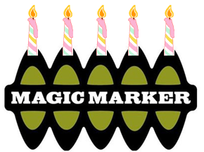 Happy Birthday Magic Marker