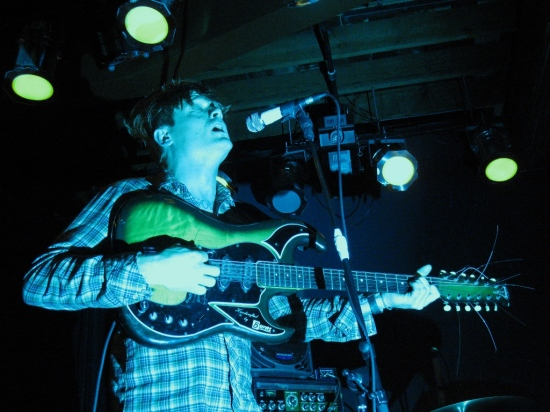 John Dwyer looking like the man possessed that he is.